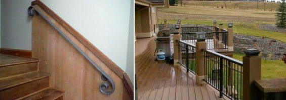 Handrails and Deck Rails